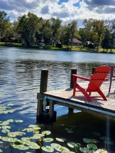 Chair on Dock nice view